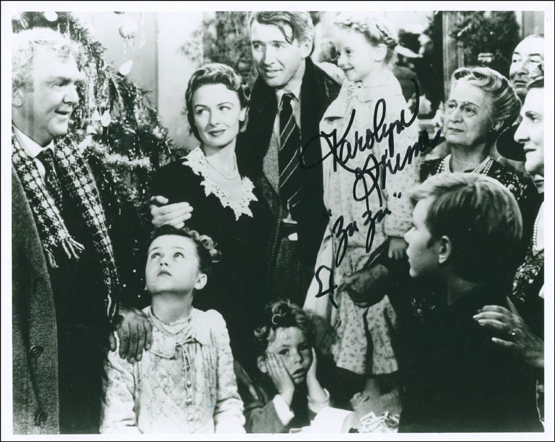 Image 1 for Karolyn Grimes - Autographed Signed Photograph - HFSID 291474