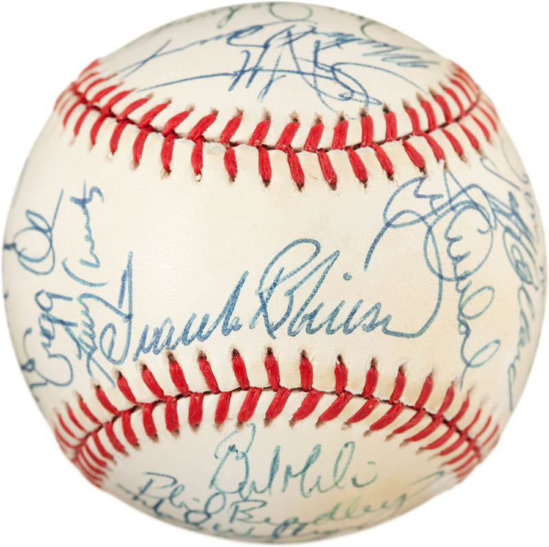 Image 1 for The Baltimore Orioles - Autographed Signed Baseball with co-signers - HFSID 291567
