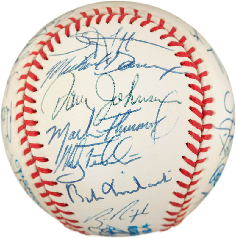 Image 3 for The Baltimore Orioles - Autographed Signed Baseball with co-signers - HFSID 291567