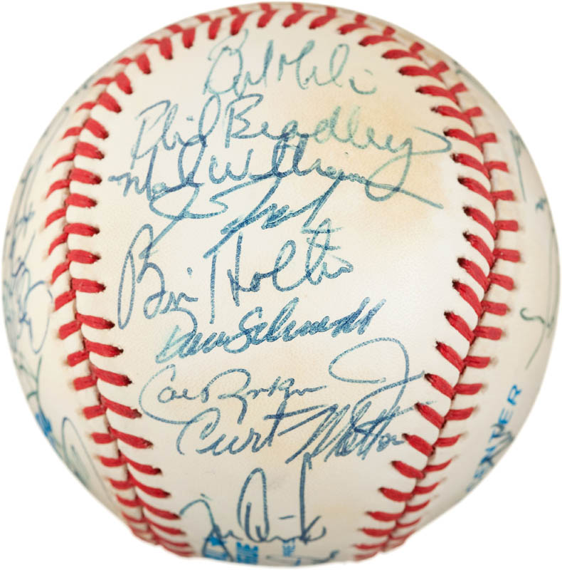 Image 4 for The Baltimore Orioles - Autographed Signed Baseball with co-signers - HFSID 291567