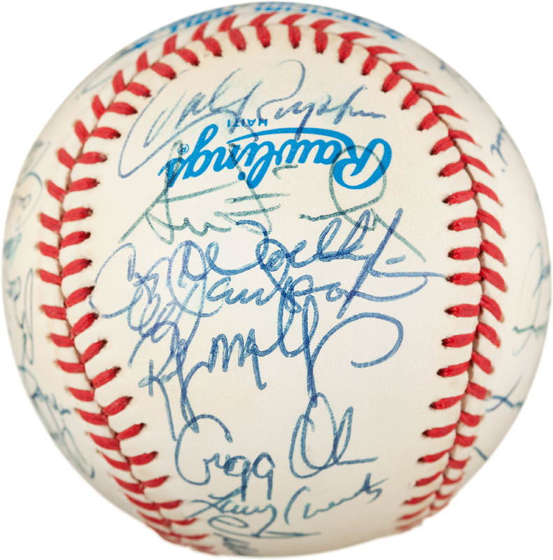 Image 5 for The Baltimore Orioles - Autographed Signed Baseball with co-signers - HFSID 291567