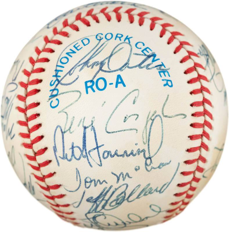 Image 6 for The Baltimore Orioles - Autographed Signed Baseball with co-signers - HFSID 291567