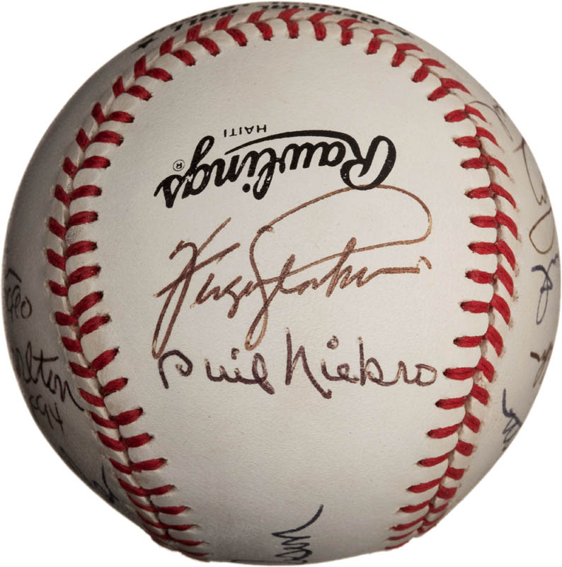 Image 5 for Bob Feller - Autographed Signed Baseball with co-signers - HFSID 291811