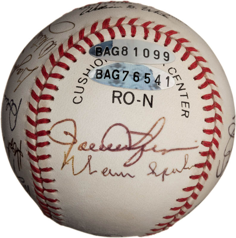 Image 6 for Bob Feller - Autographed Signed Baseball with co-signers - HFSID 291811