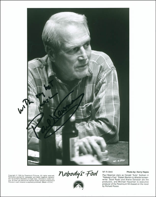 Image 1 for Paul Newman - Autographed Signed Photograph - HFSID 291953