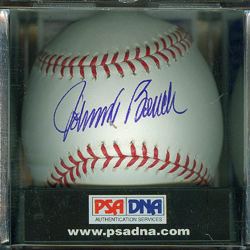 Image 1 for Johnny Bench - Autographed Signed Baseball - HFSID 292012