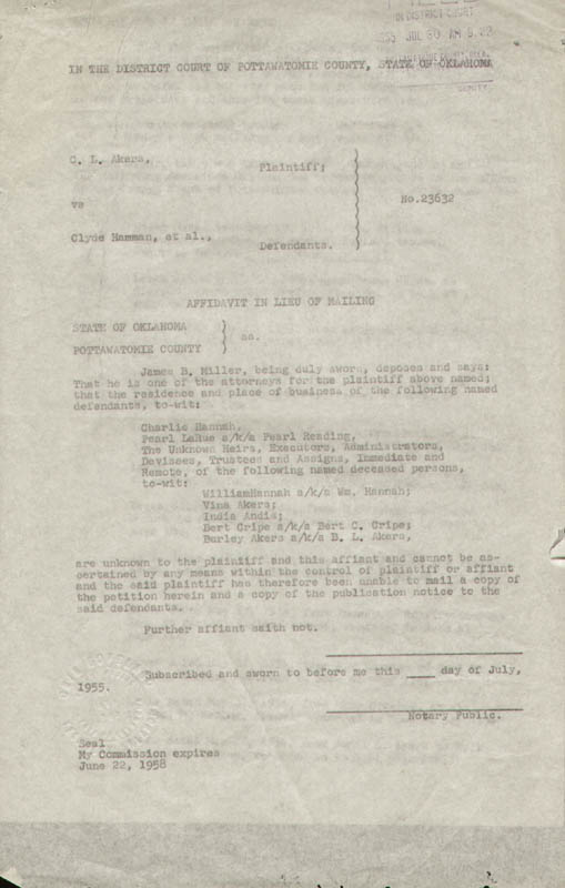 Image 6 for Montgomery Clift - Document Signed 06/01/1957 with co-signers - HFSID 292085