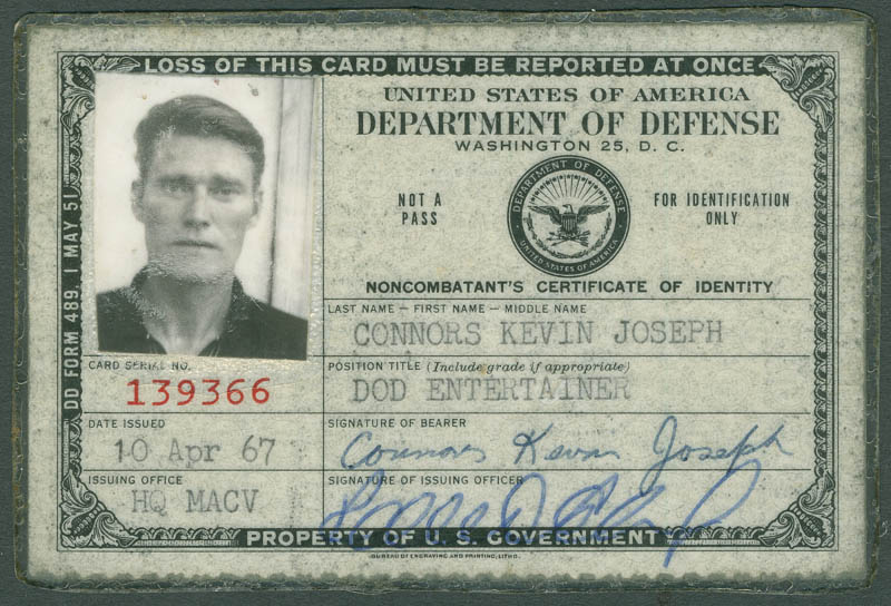 Chuck Connors Document Signed 04 10 1967 Ebay
