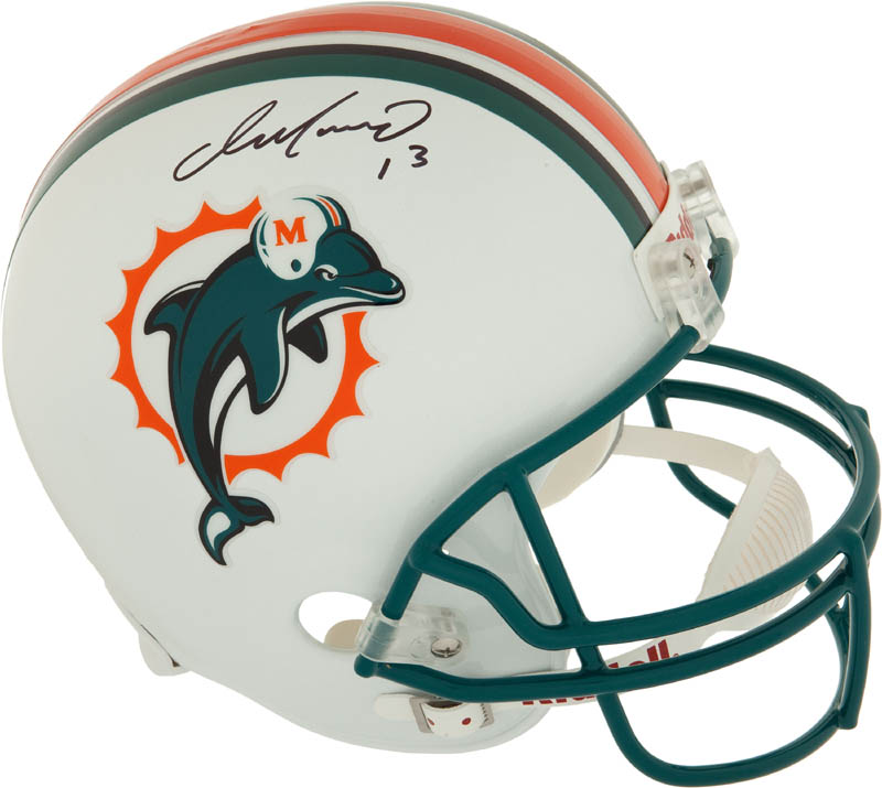 Image 1 for Dan Marino - Helmet Signed - HFSID 292344