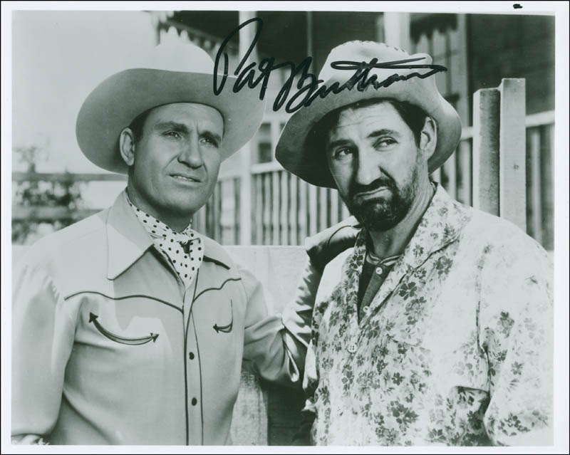 Image 1 for Pat Buttram - Autographed Signed Photograph - HFSID 292415