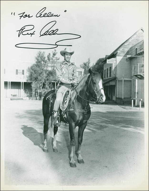 Image 1 for Rex Allen - Autographed Inscribed Photograph - HFSID 292434