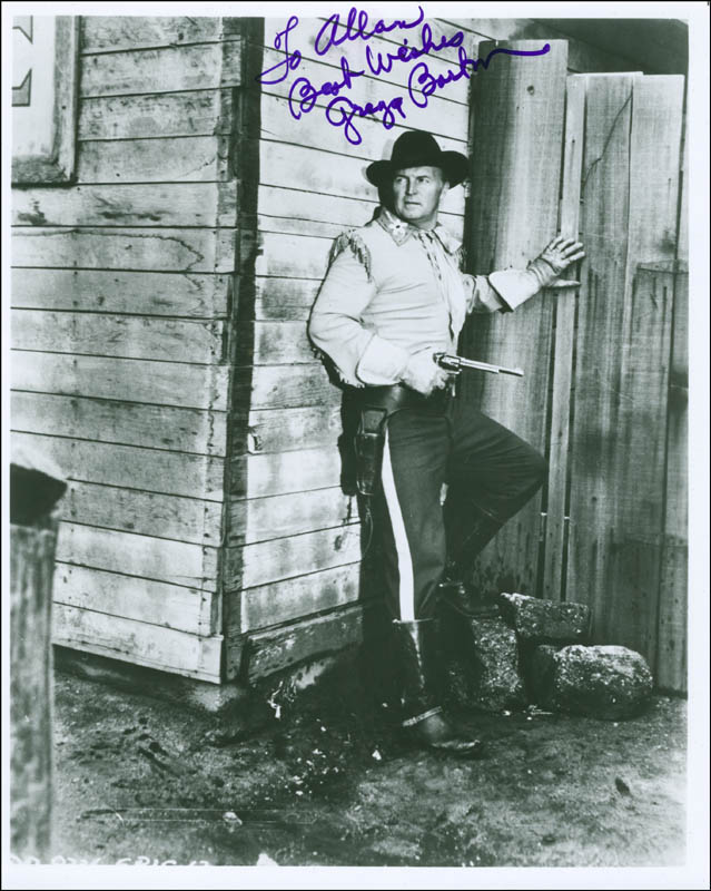 Image 1 for Gregg Barton - Autographed Inscribed Photograph - HFSID 292465