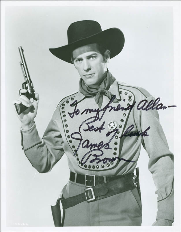 Image 1 for James L. 'Rip' Brown - Autographed Inscribed Photograph - HFSID 292466