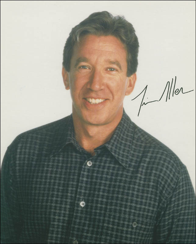 Image 1 for Tim Allen - Autographed Signed Photograph - HFSID 292501