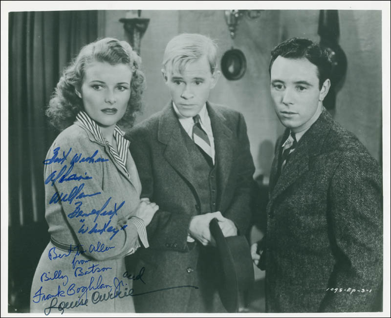 Image 1 for Adventures Of Captain Marvel Movie Cast - Autographed Inscribed Photograph with co-signers - HFSID 292541