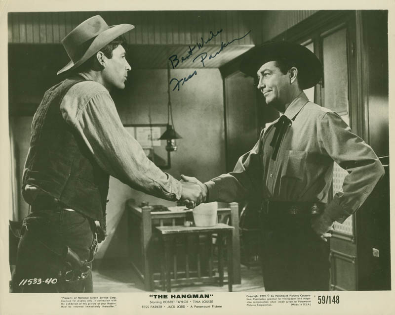 Image 1 for Fess Parker - Autographed Signed Photograph - HFSID 292573