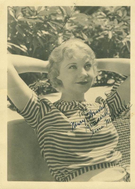 Image 1 for Una Merkel - Autographed Inscribed Photograph - HFSID 292591