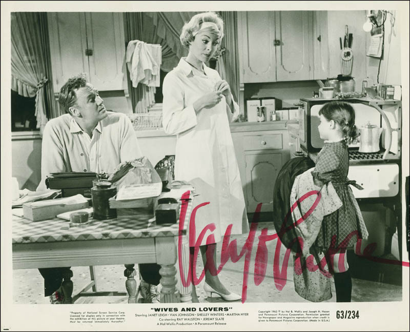 Image 1 for Van Johnson - Autographed Signed Photograph - HFSID 292613