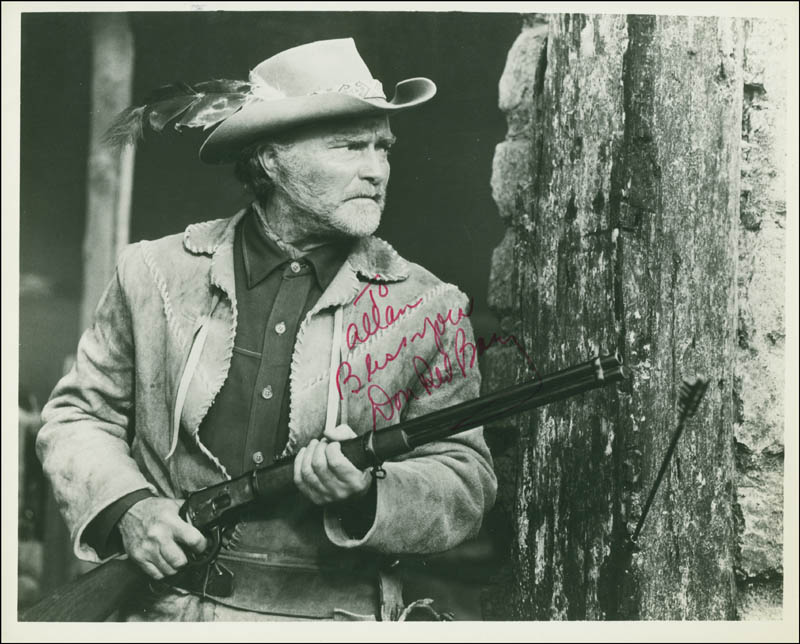 Image 1 for Don 'Red' Barry - Autographed Inscribed Photograph - HFSID 292619