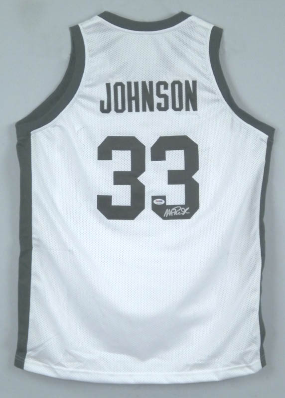 Image 1 for Earvin 'Magic' Johnson - Jersey Signed - HFSID 292655