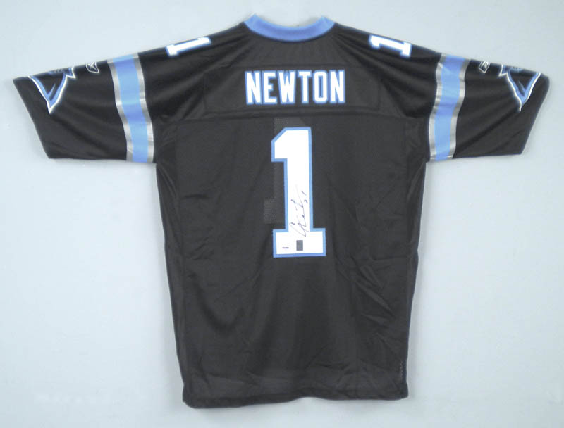 huge selection of 9e3fe 418d4 Cam Newton - Jersey Signed | Autographs & Manuscripts ...