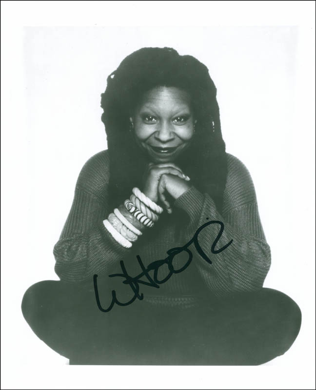 Image 1 for Whoopi Goldberg - Autographed Signed Photograph - HFSID 292691