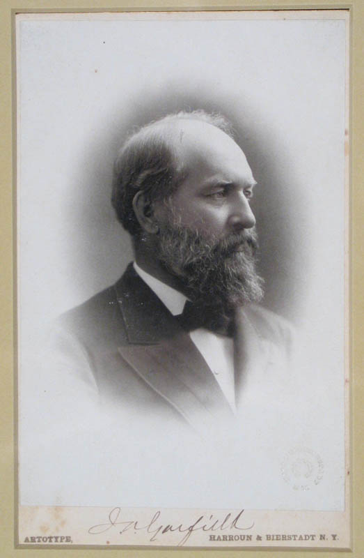 Image 1 for President James A. Garfield - Photograph Mount Signed - HFSID 292717