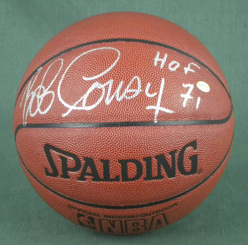 Image 1 for Bob Cousy - Basketball Signed - HFSID 292730