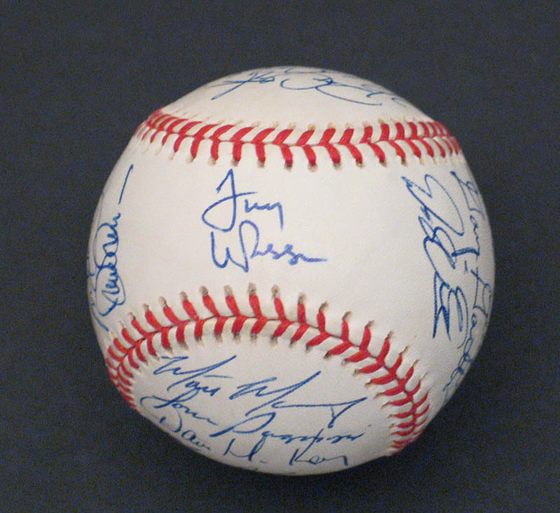 Image 1 for The St. Louis Cardinals - Autographed Signed Baseball with co-signers - HFSID 292740