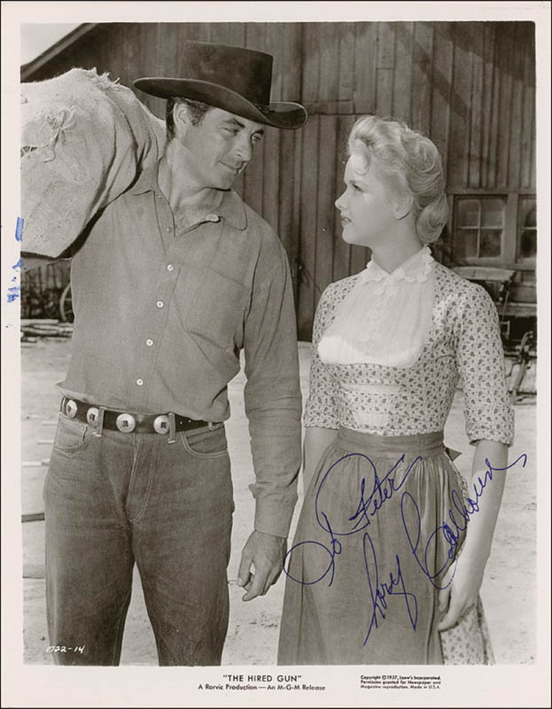 Image 1 for Rory Calhoun - Inscribed Printed Photograph Signed In Ink - HFSID 292751