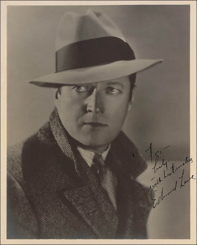 Image 1 for Edmund Lowe - Autographed Inscribed Photograph - HFSID 292759