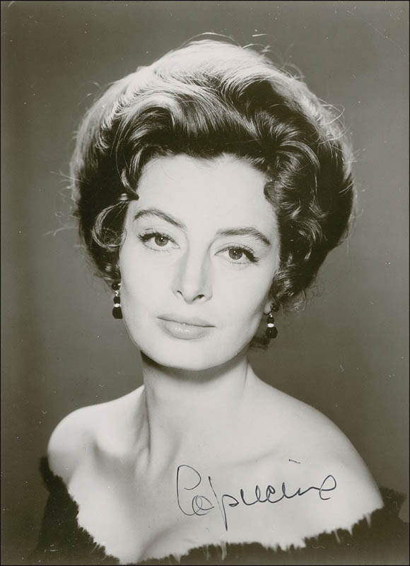 Image 1 for Capucine - Autographed Signed Photograph - HFSID 292779