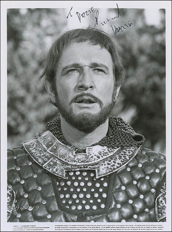 Image 1 for Richard Harris - Autographed Inscribed Photograph - HFSID 292837