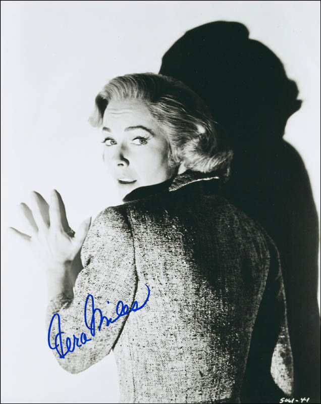 Image 1 for Vera Miles - Autographed Signed Photograph - HFSID 292885
