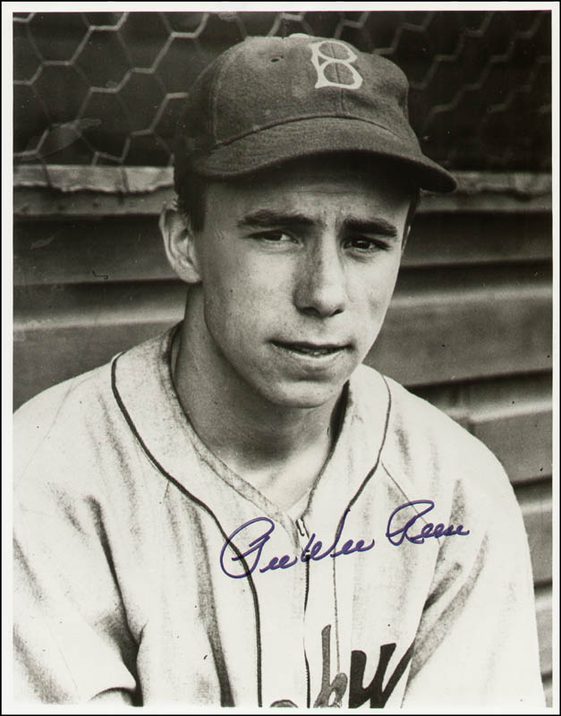Image 1 for Pee Wee Reese - Autographed Signed Photograph - HFSID 292909