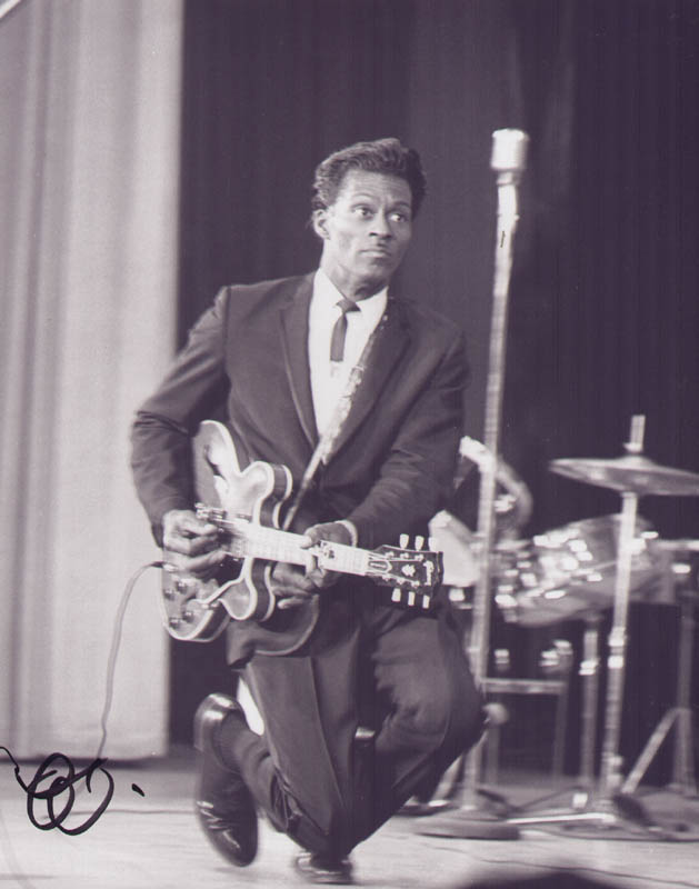 Image 1 for Chuck Berry - Autographed Signed Photograph 1950 - HFSID 292944