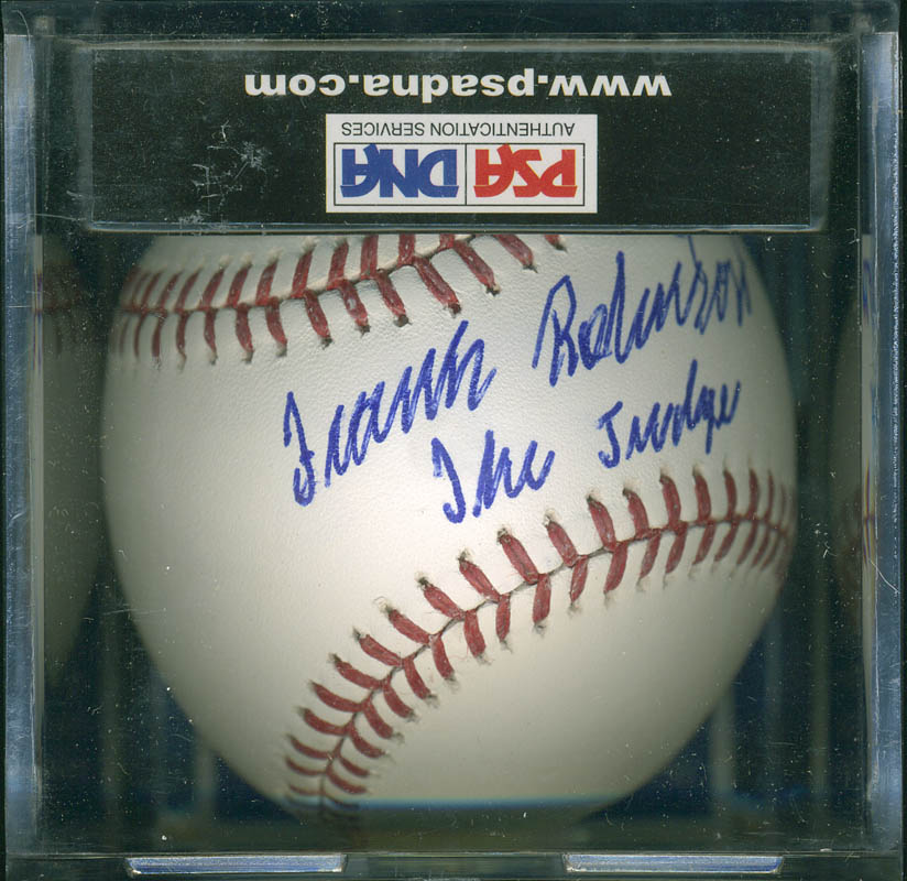 Image 1 for Frank Robinson - Autographed Signed Baseball - HFSID 293007