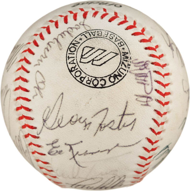 Image 5 for Sadaharu Oh - Autographed Signed Baseball 1992 with co-signers - HFSID 293065