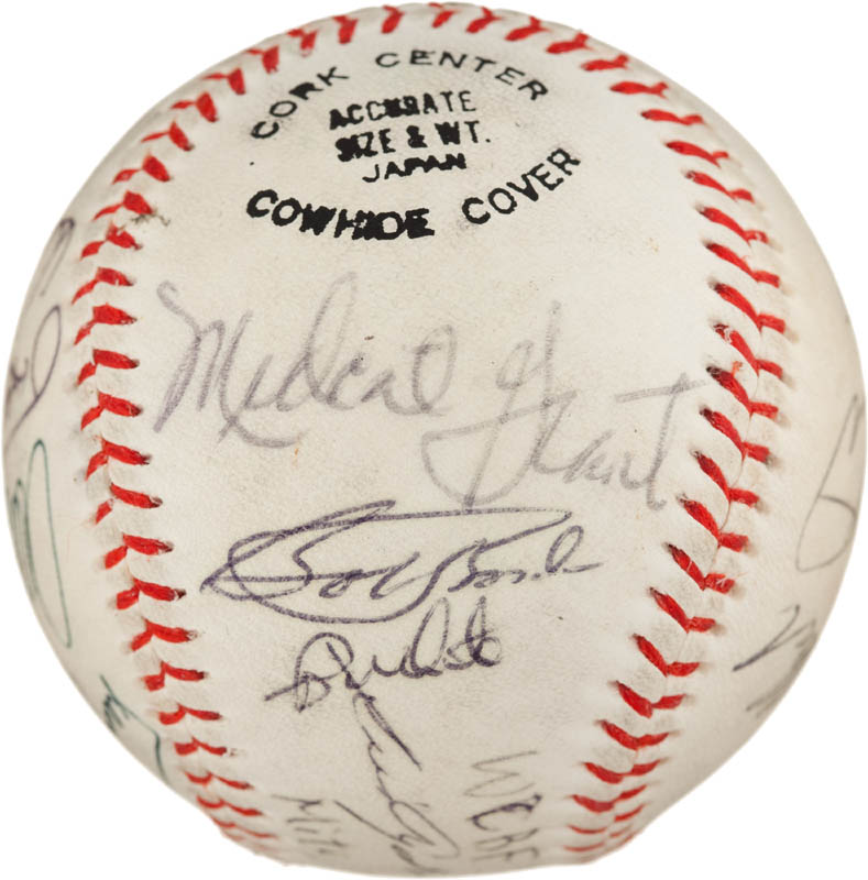 Image 6 for Sadaharu Oh - Autographed Signed Baseball 1992 with co-signers - HFSID 293065