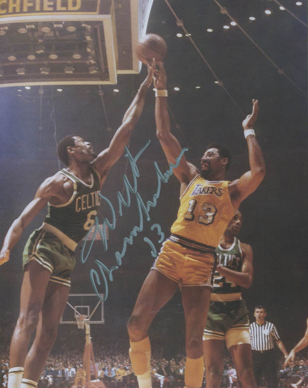 Image 1 for Wilt 'The Stilt' Chamberlain - Autographed Signed Photograph - HFSID 293071