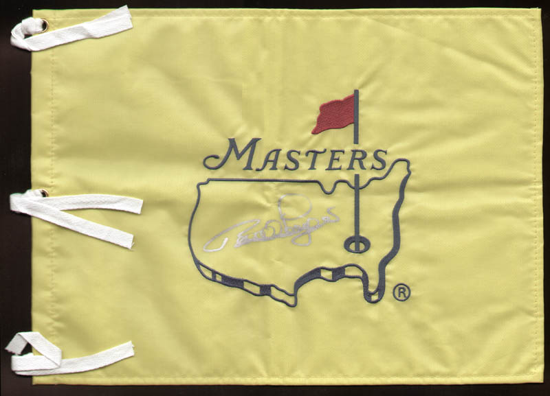 Image 1 for Bernhard Langer - Flag Signed - HFSID 293081