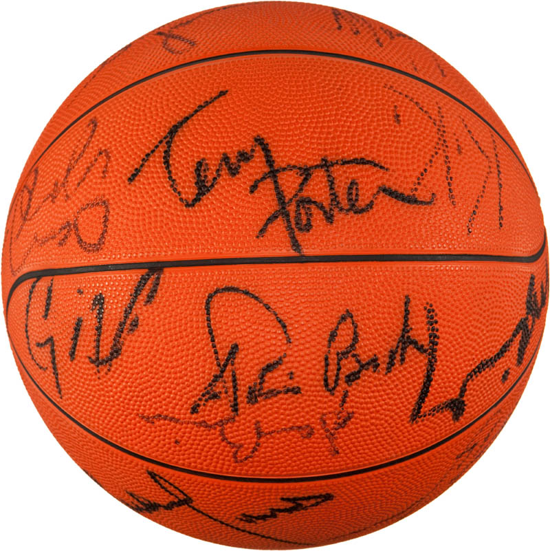 Image 4 for The Portland Trail Blazers - Basketball Signed with co-signers - HFSID 293087