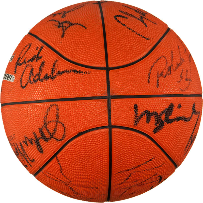 Image 7 for The Portland Trail Blazers - Basketball Signed with co-signers - HFSID 293087