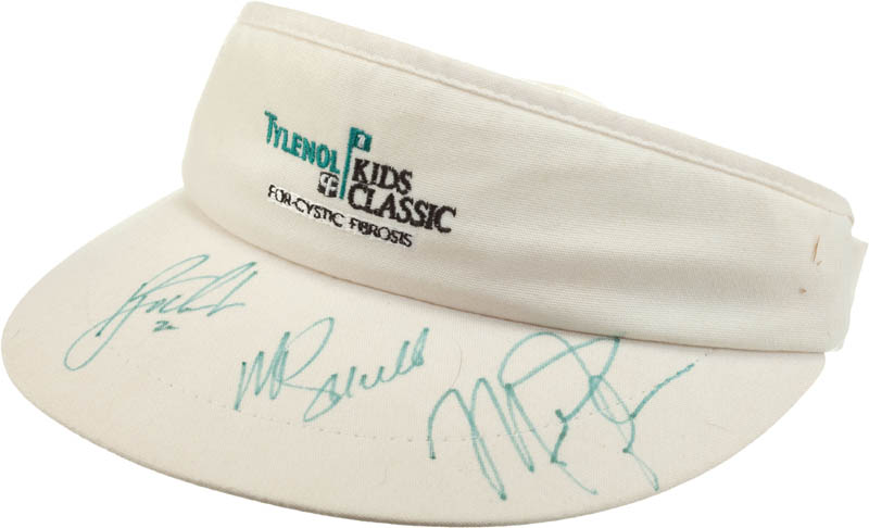 Image 1 for Michael 'Air' Jordan - Hat Signed co-signed by: Mike Schmidt - HFSID 293090