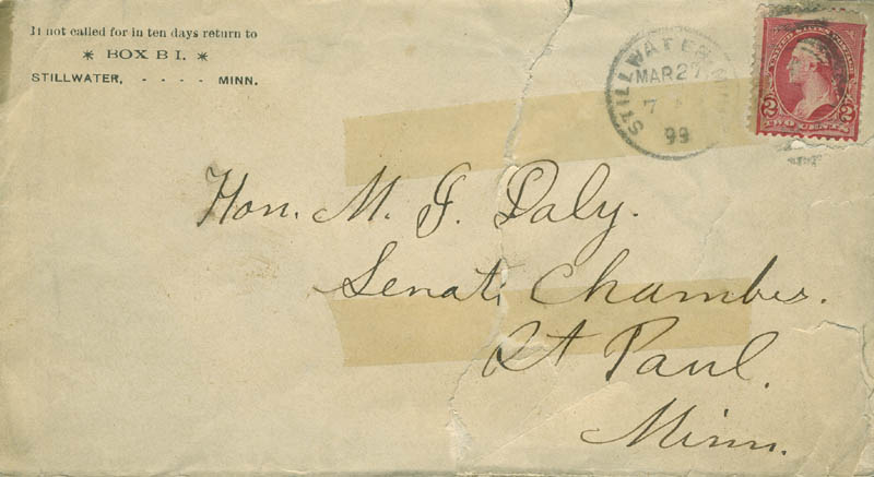 Image 4 for Cole Younger - Autograph Letter Signed 03/26/1899 - HFSID 293173