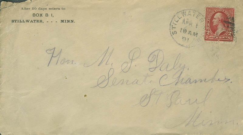 Image 3 for Cole Younger - Autograph Letter Signed 03/31/1901 - HFSID 293174