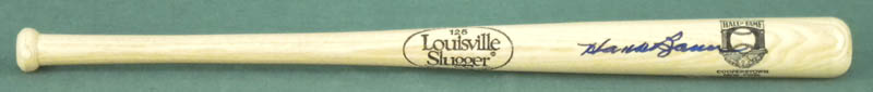 Image 1 for Hank Bauer - Miniature Baseball Bat Signed - HFSID 293202