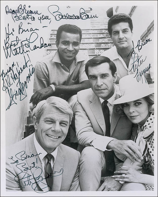 Image 1 for Mission Impossible TV Cast - Autographed Inscribed Photograph with co-signers - HFSID 293326