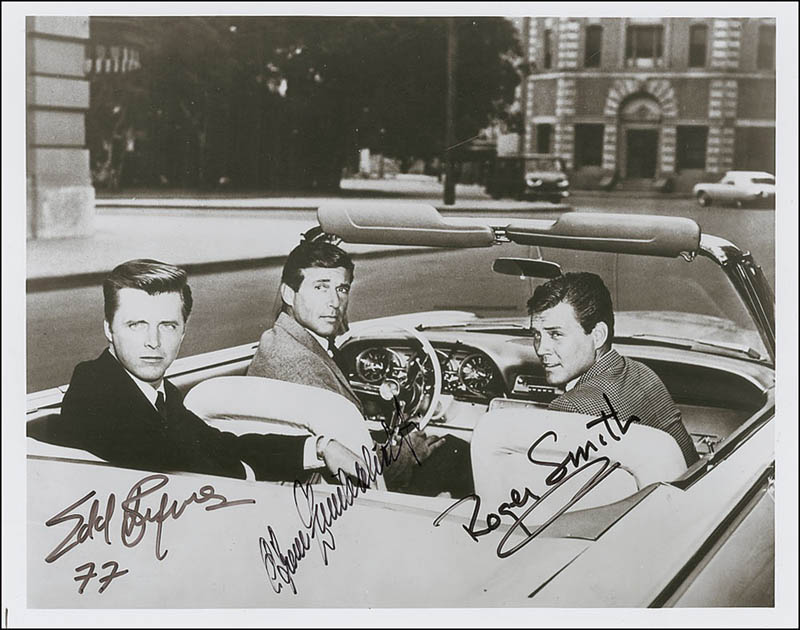 Photo Of 77 Sunset Strip Authentic Hand Signed Card Edd Byrnes Entertainment Memorabilia