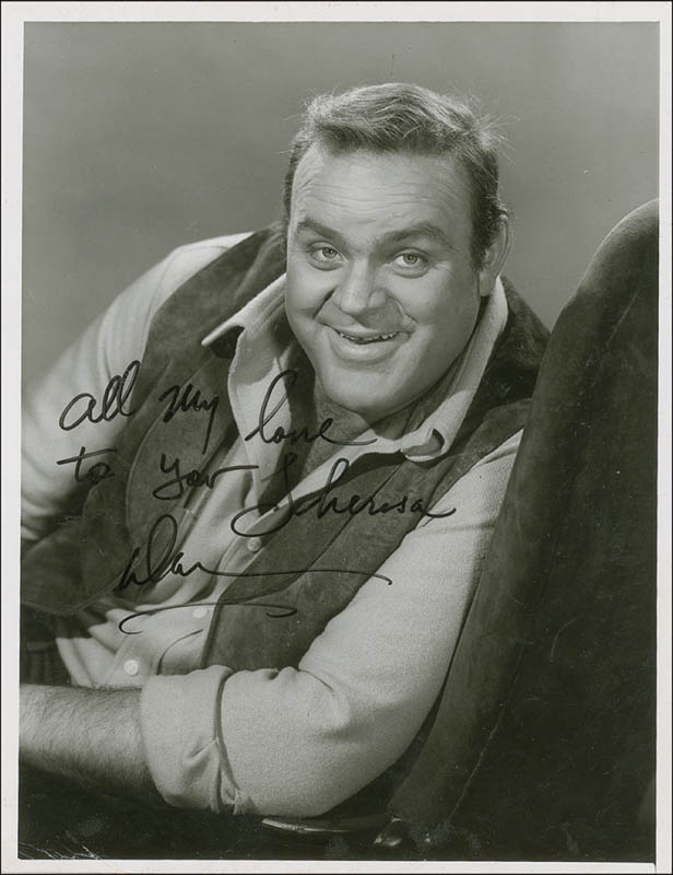 Image 1 for Dan 'Hoss' Blocker - Autographed Inscribed Photograph - HFSID 293349